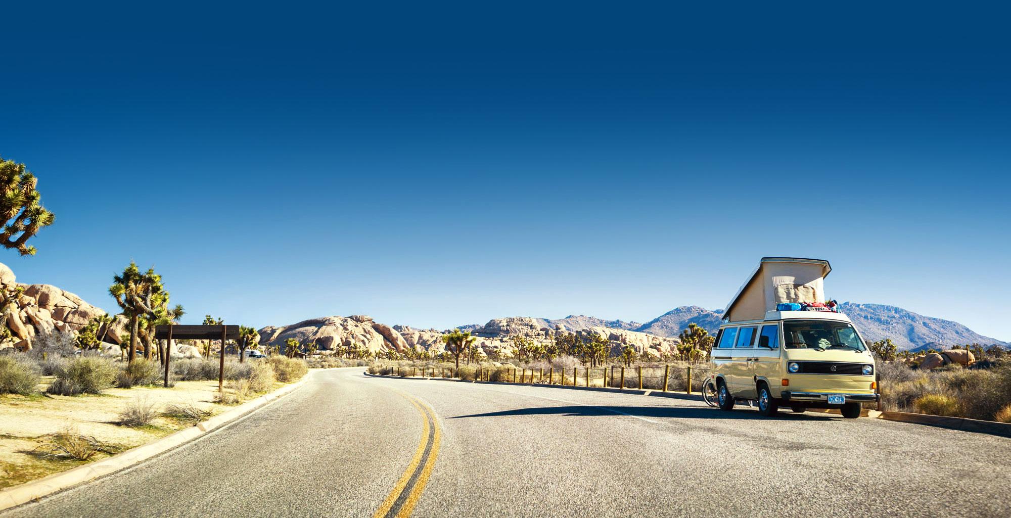viaggiare in furgone