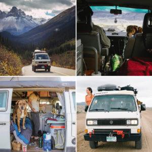 vivere in furgone