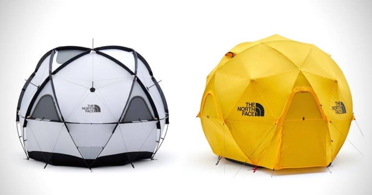 tipi di tenda da campeggio - Geodetica